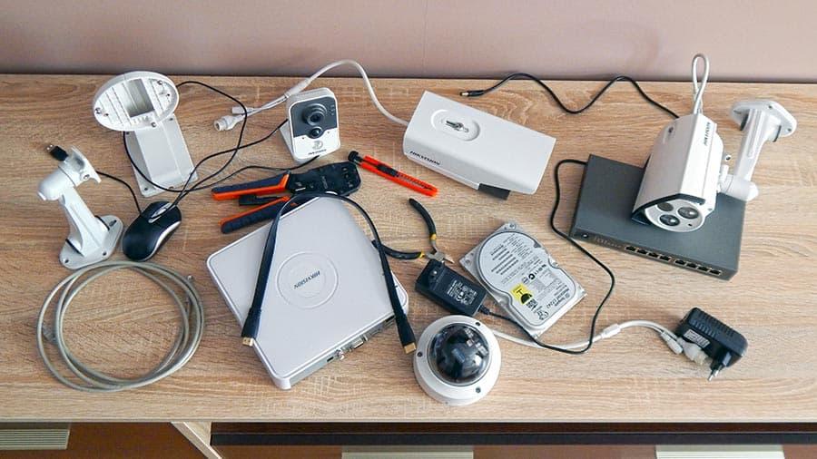 Установка видеонаблюдения своими руками дома